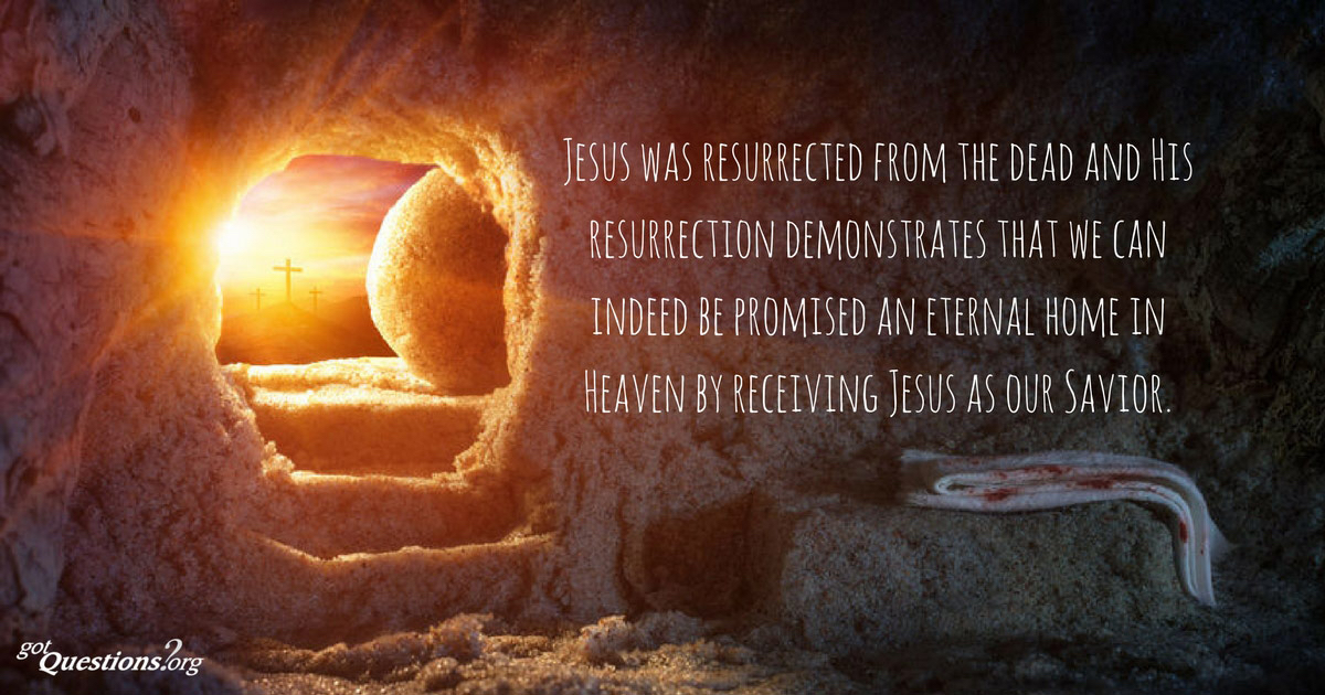 Jesus' Resurrection gives us hope that there is life after death!